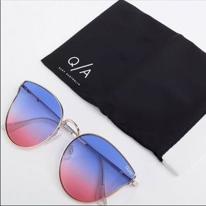 Quay Cat Eye Sunglasses